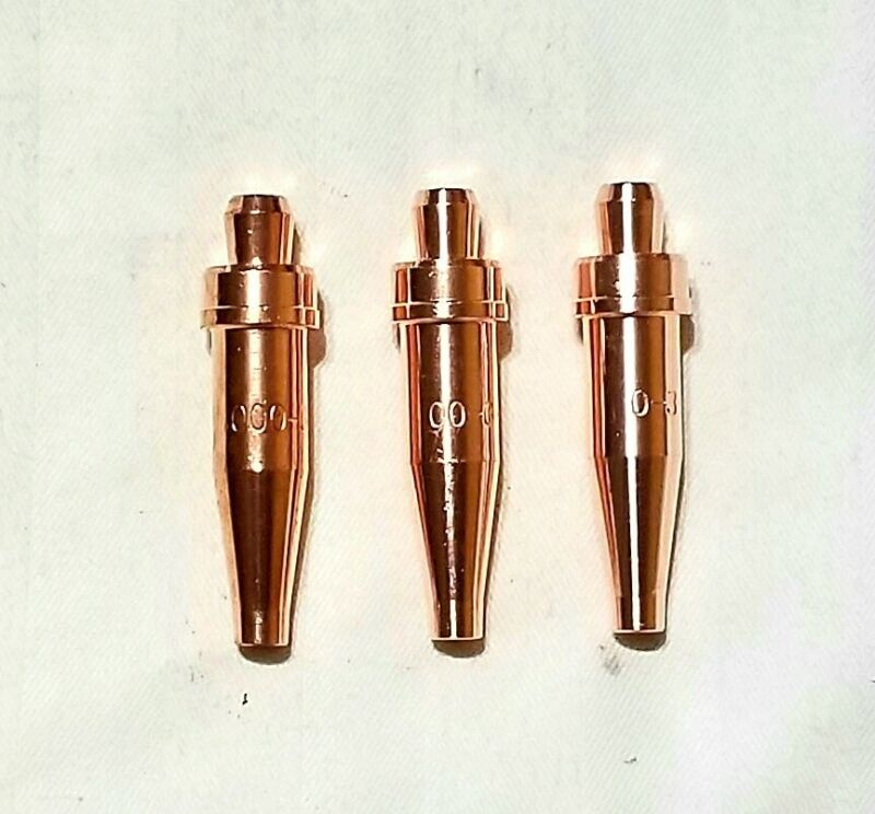 VICTOR STYLE 000-3-101, 00-3-101 & 0-3-101 Acetylene Cutting Torch Tips CA1350