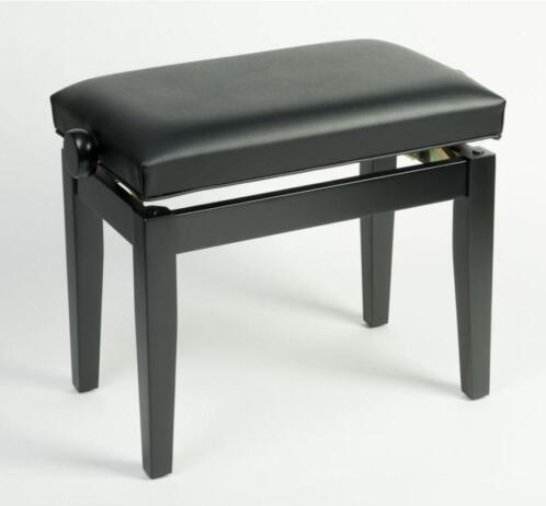 Pianokruk zwart wit en bruin het hout is massief beuken for Zwart hout ladeblok