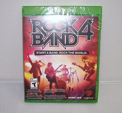 NEW SEALED Rock Band 4 Game Software Disc by Mad Catz (Microsoft Xbox One, 2015) for sale  Shipping to South Africa