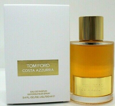 TOM FORD COSTA AZZURRA EAU DE PARFUM SPRAY UNISEX 3.4 Oz / 100 ml BRAND NEW!!!