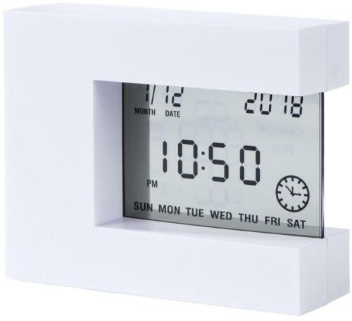 Hama digitaler Multiwecker / Wecker Uhrzeit/Datum Temperatur Timer Alarm 176941
