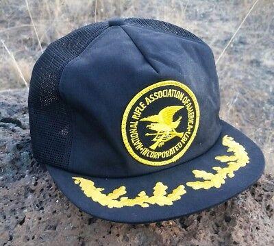 Vintage NRA Trucker Hat, Snapback, Mesh