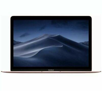"New Sealed Apple 12"" MacBook (Nucleus m3, 8GB RAM, 256GB SSD) MNYM2LL/A Rose Gold"