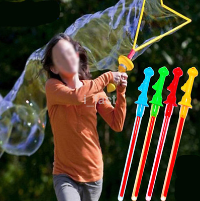 Hot Sale Outdoor Children Kids Play Toy Bubble Sword Wand Water Fun Game US