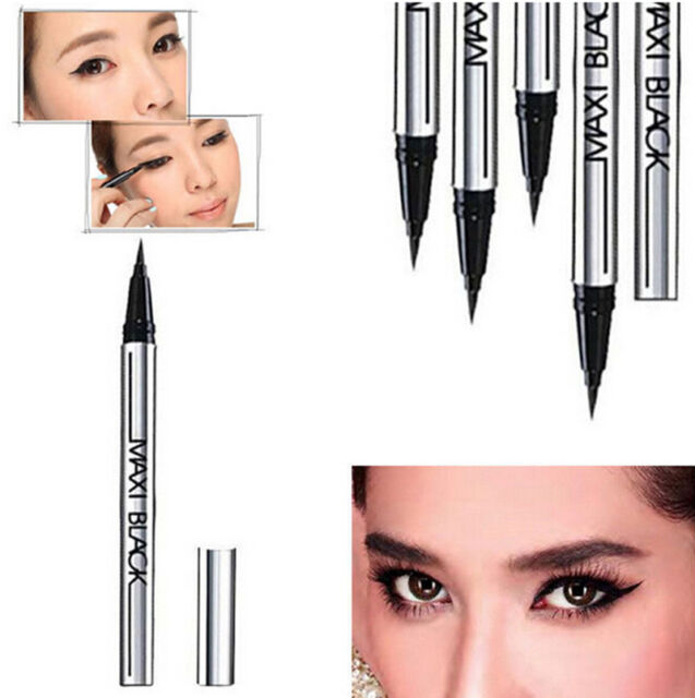Hot Sale Black Waterproof Eyeliner Liquid Eye Liner Pen Pencil Makeup Cosmetic