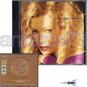 SPAGNA-034-NO-WAY-OUT-034-RARO-CD-1991-SIGILLATO-FUORI-CAT