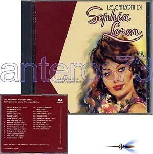 """SOPHIA LOREN """"LE CANZONI DI SOPHIA"""" RARO CD 1992 - Italia - L'oggetto può essere restituito - Italia"""