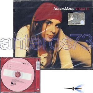 AMBRA-MARIE-034-VIA-DA-TE-034-RARO-CDsingle-SIGILLATO-X-FACTOR