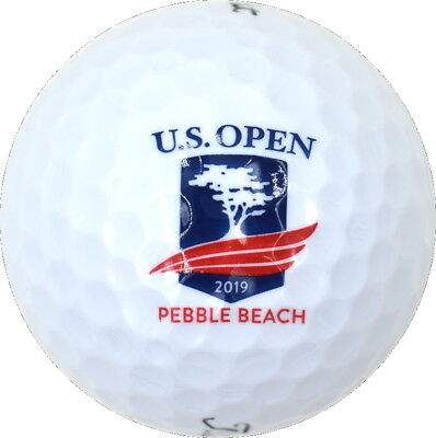 2019 US OPEN (Pebble Beach) Logo - Titleist Velocity - GOLF BALL