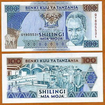 P 23 P23 50 SHILINGI 1993 Banknote Note TANZANIA UNC