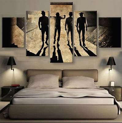 A Clockwork Orange 5 panel canvas Wall Art Home Decor Poster Picture
