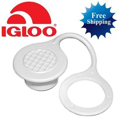 1-PC IGLOO COOLER TRIPLE SNAP STANDARD DRAIN PLUG CAP Replacement Part Parts Kit