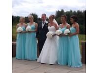 4 x Adult Bridesmaid dresses