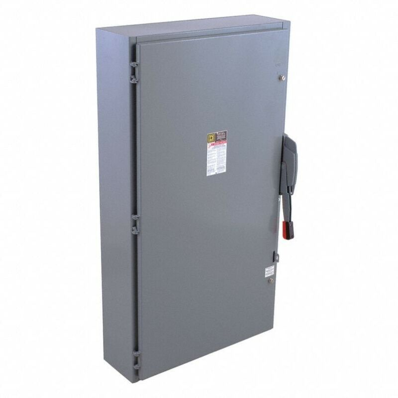 Square D By Schneider Electric H366N 600 A Amps AC 600V AC Single Throw Safety