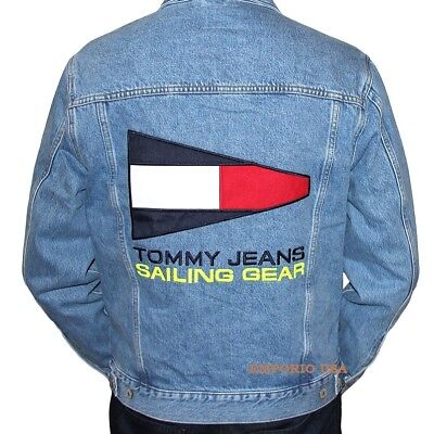 TOMMY HILFIGER Men's Lined Denim Jacket TOMMY JEANS CAPSULE collection NWT