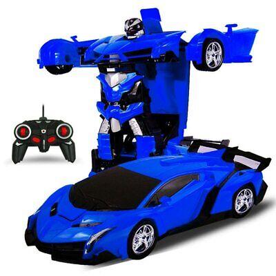 Transformador de juguete RACING coche de control remoto para niños RC nuevo