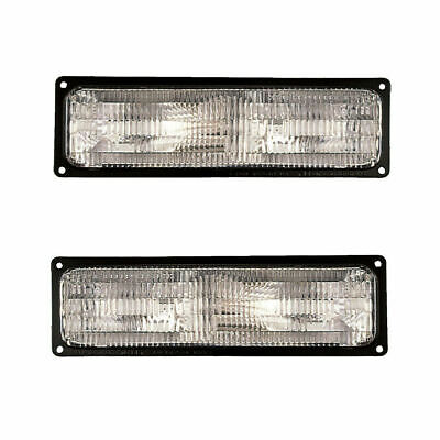 FOR CHEVY C1500 TRUCK 1994 1995 1996 1997 1998 SIGNAL LAMP RIGHT & LEFT PAIR