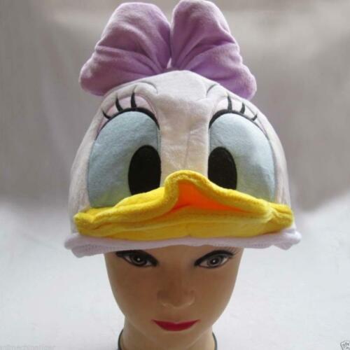 NEW Disney Store Daisy Duck Costume Hat Cap Plush Cosplay