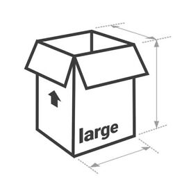 New Large Removals Box, High Quality, Double Walled Moving, Storage Cardboard Boxes to Sell, Packing