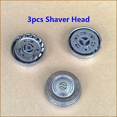 3pcs Replacement Shaver Head for Philips Norelco HQ167 HQ156 Cool Skin - Norelco Hq167 Replacement