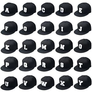 Abc-Letter-Snapback-Cap-Diamond-COMME-DES-FUCKDOWN-Ymcmb-ERA-Tisa-Ovoxo-New