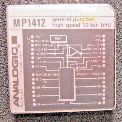 Analogic Mp1412 Analog To Digital High Speed Converter Module