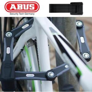 NEW ABUS FOLDING BIKE LOCK 551604 232207688 WITH KEY