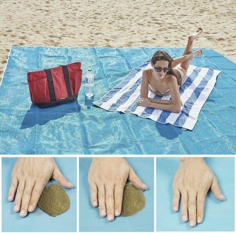 Beach Mat Outdoor Picnic Blanket Rug Mattress Camping Waterp