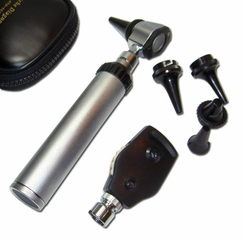 NEW Professional  OPTHALMOSCOPE / OTOSCOPE Kit      adc STYLE