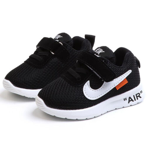 9cab68eddbb5 2018 KIDS BOYS GIRLS SPORTS RUNNING SHOES TODDLER SHOCK AIR TRAINERS SHOES  SIZE