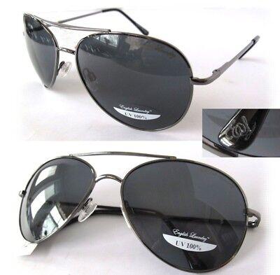 NWT English Laundry Unisex Sunglasses ELS200M Gun metal/Gray, arc bridge- (Wayfarer 200)