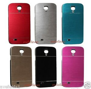 Funda-Carcasa-metal-para-SAMSUNG-GALAXY-S4-I9500-I9505-Aluminio-Colores