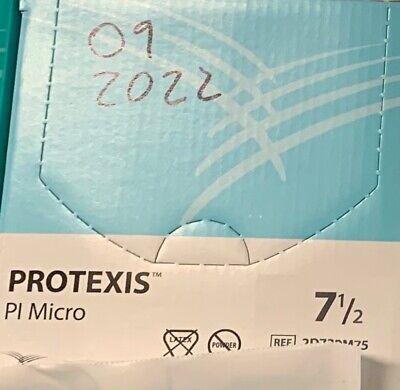 Protexis Pi Micro Surgical Gloves Powder Free Sz 7.5 2d73pm75 - 50 Pairbox