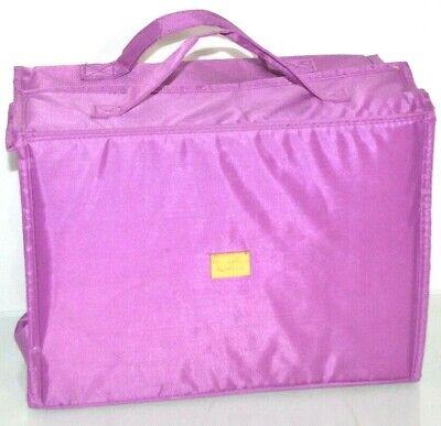 Joy Mangano Better Beauty Makeup Case Cosmetic Bag Roll Up Organizer