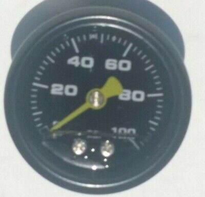 Gauge 0-100 psi Fuel Pressure Oil Pressure 1.5
