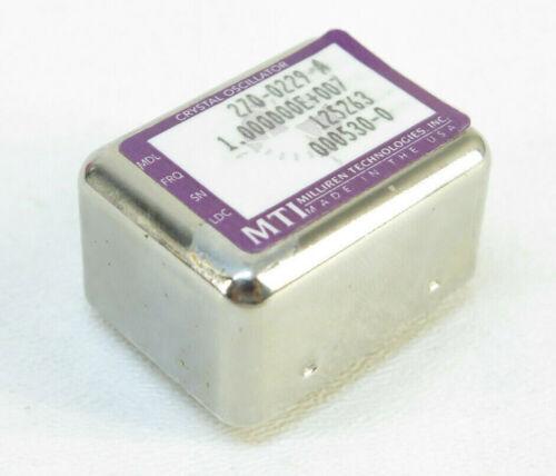MTI 270-0229-A - OCXO 5kHz to 90MHZ