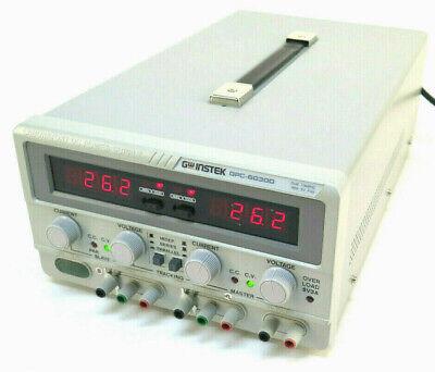 Instek Gpc-6030d Triple-output 375w Dc Power Supply