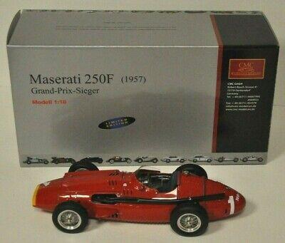 MASERATI 250F 1 GRAND- PRIX-SIEGER CMC M-064 RARE 1/18
