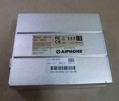 Aiphone IPW-1A Intercom-Over-IP Adapter  @A26