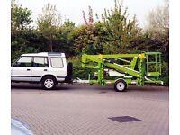Parking / Storage required for cherry picker