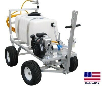 Sprayer Commercial - Trailer Mounted - 7 Gpm - 150 Psi - 50 Gallon Tank - 5 Hp
