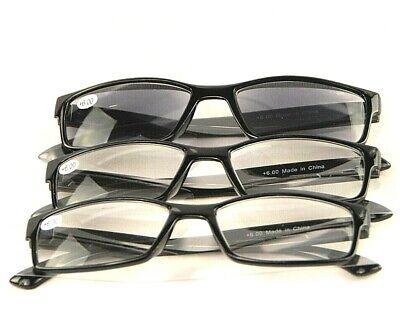 3 Reading Eyeglasses With Sunreader Sunglass Glasses Eye Unisex +3 (Sunglasses With Reading Glasses)