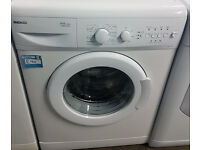 E299 white beko 6kg 1400spin washing machine comes with warranty can be delivered or collected