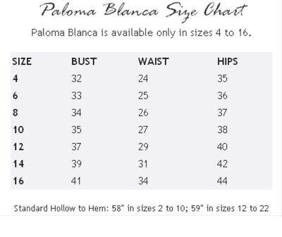 Paloma Blanca 10 Ivory color