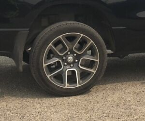 """2019 ram 1500 22""""rims and tires"""