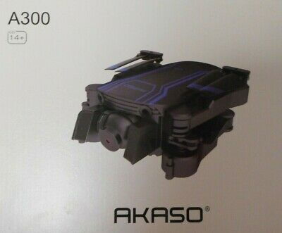 AKASO A300 Mini Quadcopter Drone with Dual Camera 1080P HD Existent Video