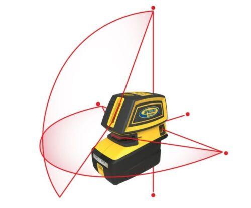 Spectra Precision LT52R Point & Cross Line Laser