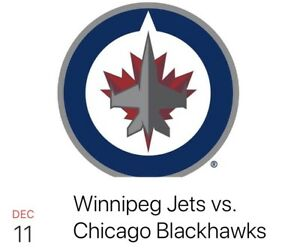 Jets vs Blackhawks