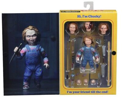 "NECA Ultimate Chucky Good Guys 7″ Scale 4"" Action Figure NEW AUTHENTIC IN STOCK"