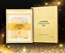 Luthione Golden 99 Mask 24K 5 Sheets Spider Web extract Skin Elasticity/ From US